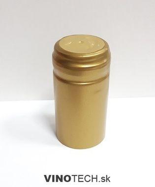 Termokapsla zlatá lesklá 31x60